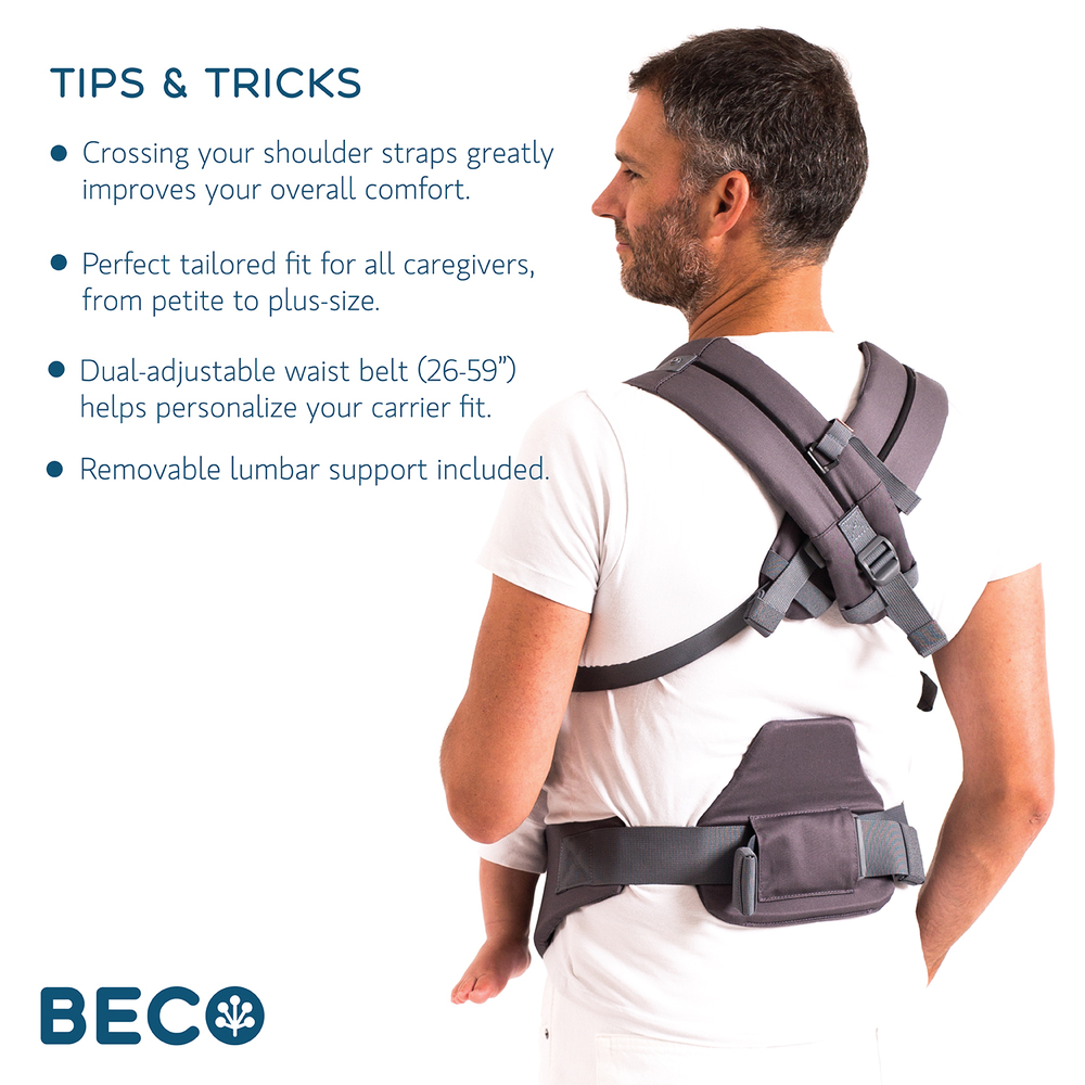 Beco 8 Baby Carrier Tips and Tricks