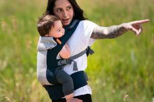 Beco Gemini Cool Baby Carrier - Navy