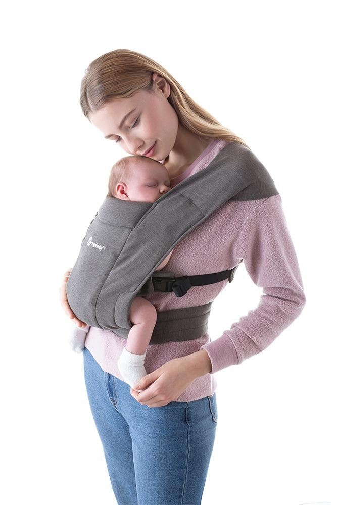 Ergobaby Embrace Baby Carrier- Heather Grey