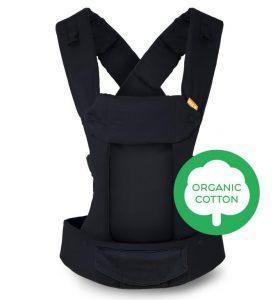 Beco Gemini Baby Carrier - Organic Metro Black
