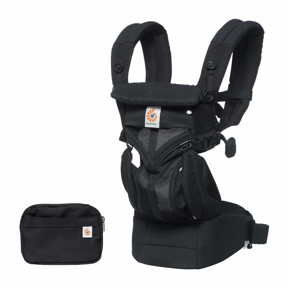 Ergobaby Carrier Onyx Black Main Omni 360