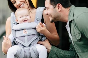Ergobaby Carrier Pearl Grey Omni 360